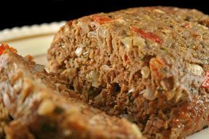 Pressure cooked meatloaf looks similar to oven-cooked meatloaf.