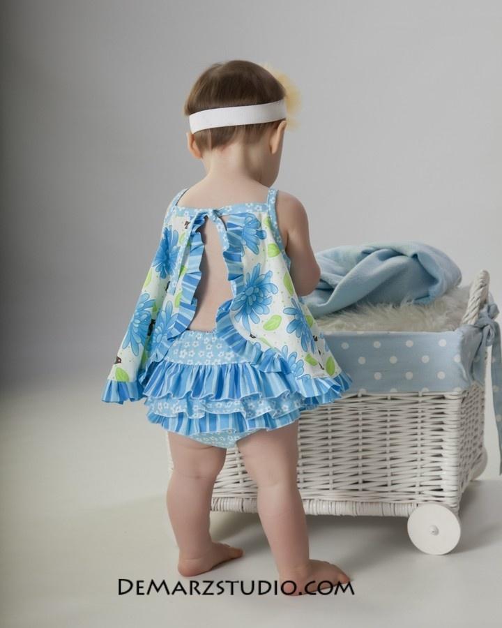 Sewing Pattern PDF - The Pat A Cake Baby Dress. $8.00, via Etsy.
