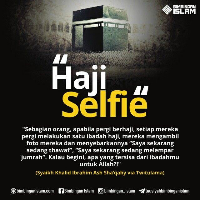 Haji selfie