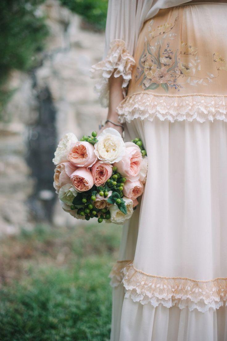 Photography: Infraordinario - wedding.infraordinario.it/?wedding Floral Design: Franci's Flowers Wedding Design - www.francisflowers.it Reception Venue: Villa Montefiano  - www.villamontefiano.it/   Read More on SMP: http://www.stylemepretty.com/destination-weddings/2014/01/29/romantic-fiesole-destination-wedding/