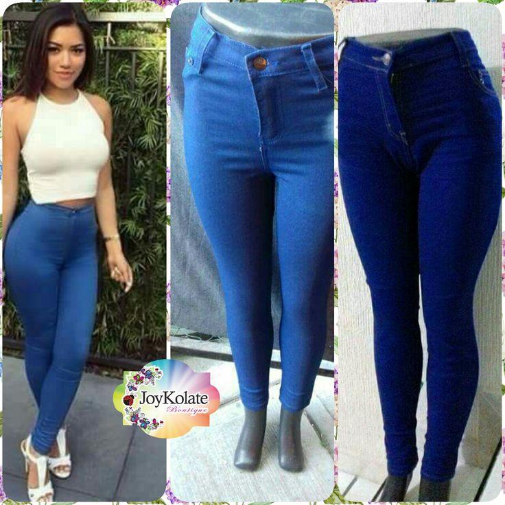 Pantalón a la cintura, luce un cuerpo envidiable con éstos padrísimos pantalones!  #Joykolate #mezclilla #pantalones facebook.com/joykolate