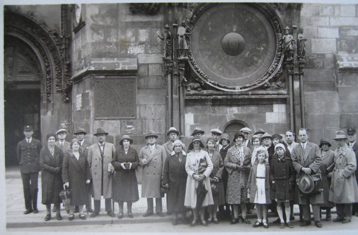 in Prague / Praha 23 august 1931, photo made by Atelier Mràz