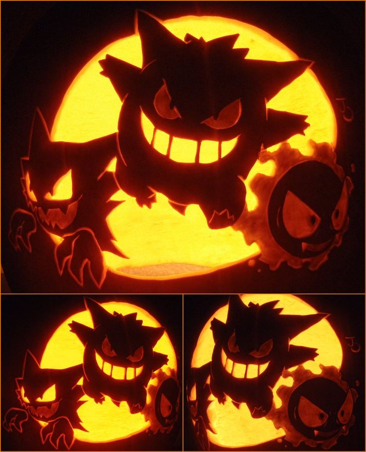 Pokemon pumpkin!