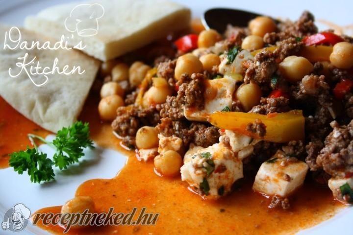 Csicseriborsós görög egytálétel recept | Receptneked.hu ( Korábban olcso-receptek.hu)
