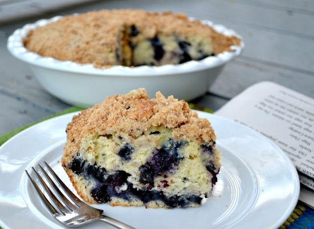 Blueberry Lemon Coffee Cake *** made this one