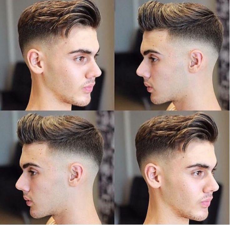 modische frisuren jungs oder männer
