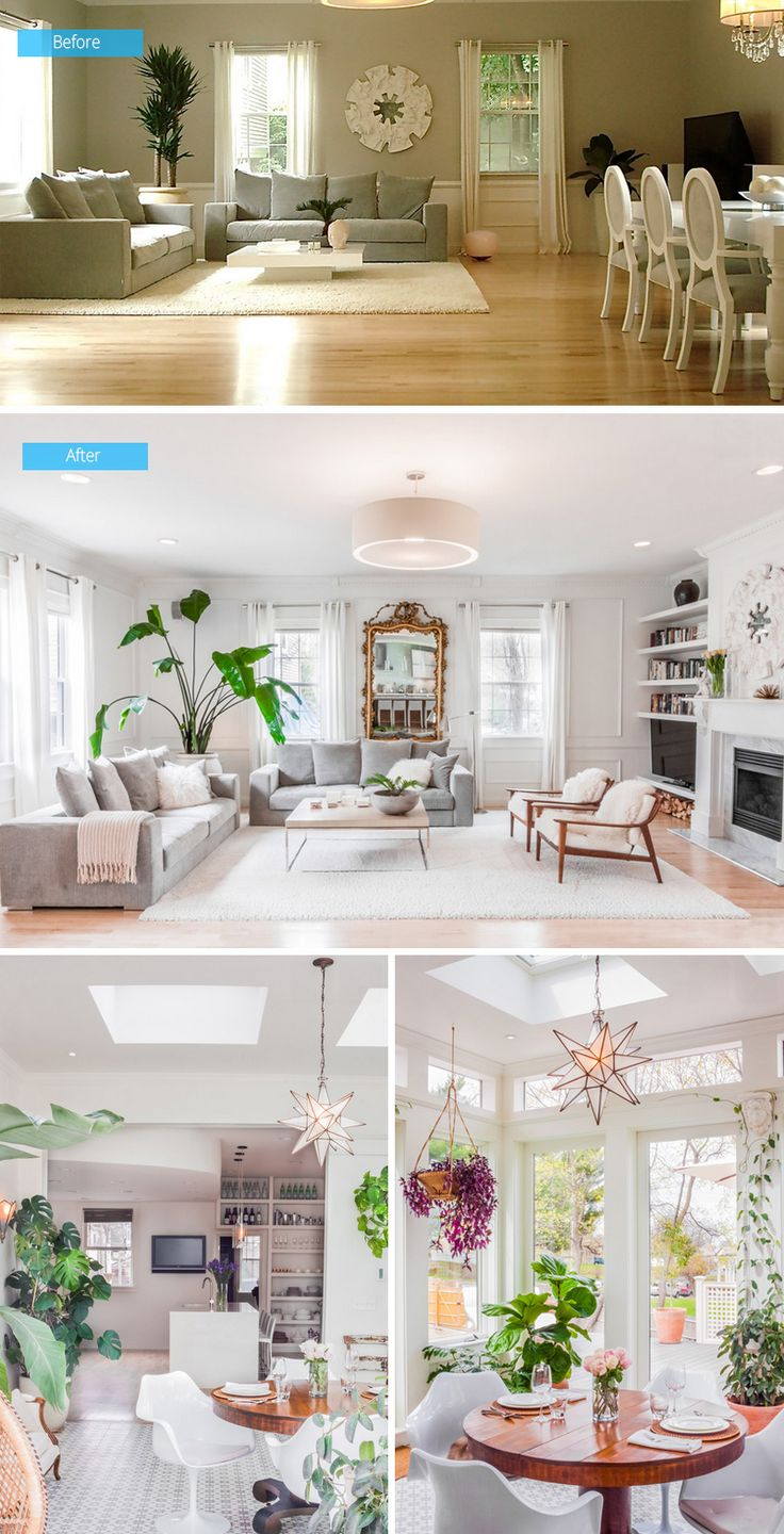 39 best before and after images on pinterest home design photos before and after a refreshing new interior design of a carriage house in boston