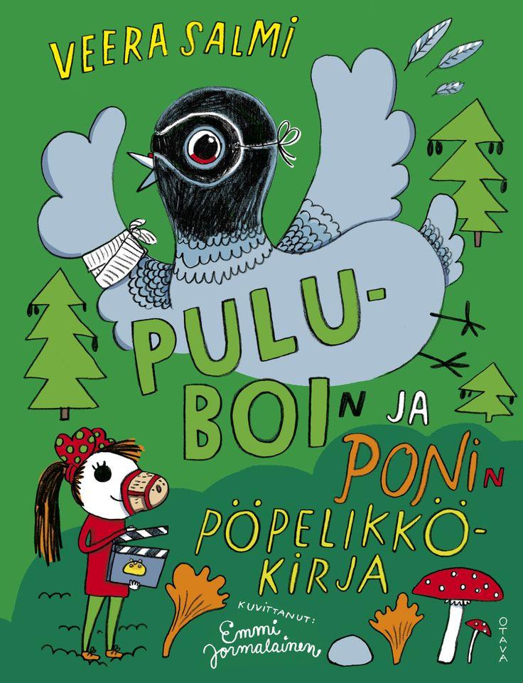 Title: Puluboin ja Ponin pöpelikkökirja   Author: Veera Salmi   Designer: Emmi Jormalainen