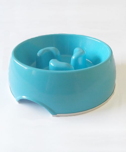 DOGMA SLOW FEED BOWL - BLUE. Available from www.nuzzle.co.za