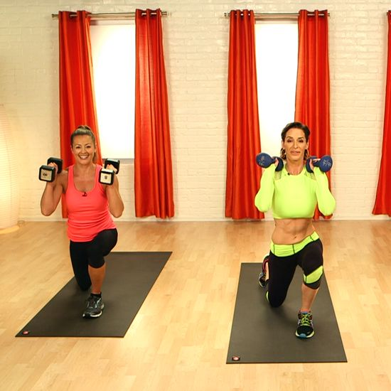 Boost Your Metabolism With This 10-Minute Workout! Use 8 pound weights :)