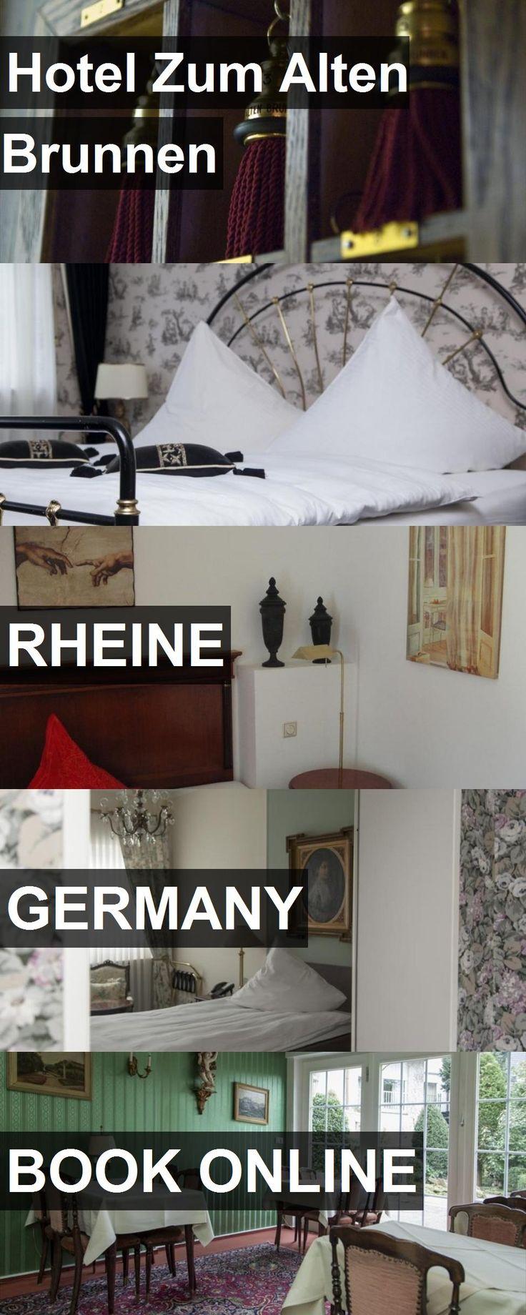 Hotel Hotel Zum Alten Brunnen in Rheine, Germany. For more information, photos, reviews and best prices please follow the link. #Germany #Rheine #HotelZumAltenBrunnen #hotel #travel #vacation