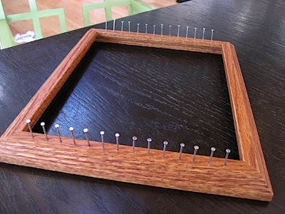 A cool DIY loom! No match for Merida's be something awesome to try ideas on.