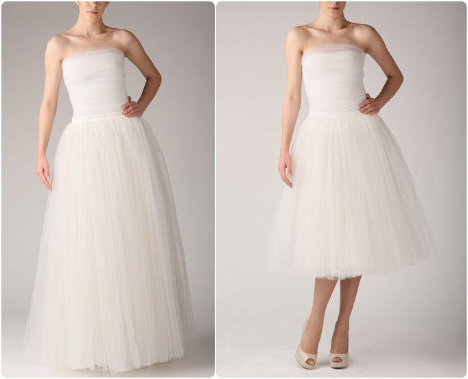 idées sur le thème Robes De Mariée De Tutu sur Pinterest  Robes-de ...