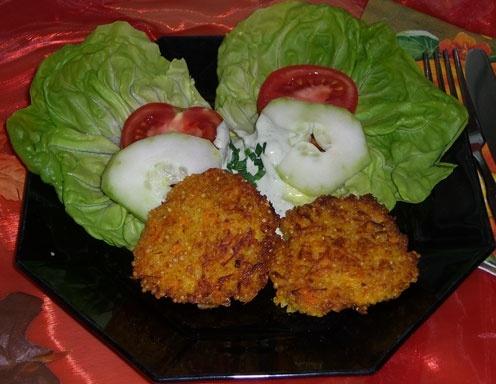 Hirselaibchen mit Karotten
