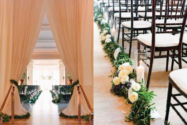 Indoor Ceremony Inspirations: 15 Best Indoor Ceremony Inspiration Images On Pinterest