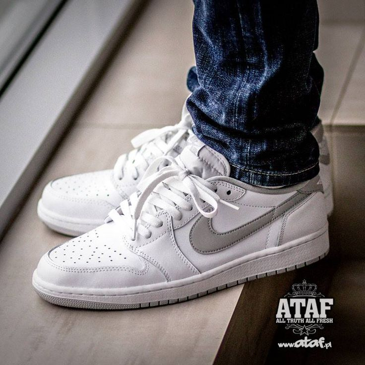 Nike Air Jordan 1 Low OG ' White ' 2015 705329-100 - Air Jordan