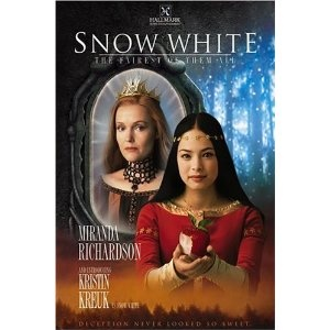 "Snow White - The Fairest of Them All- Hallmark Entertainment 2002. Snow White seems to be a popular fairy to retell recently. But here's a version from 10 years ago with some unique twists. Stars Kristin Kreuk from ""Smallville"" as Snow White, Miranda Richardson as the Evil Queen, and Warwick Davis as a dwarf. I like how the 7 days of the week and 7 colors of the rainbow were incorporated with the 7 dwarfs. Trailer: http://www.youtube.com/watch?v=T3Vf2RpSHR0"