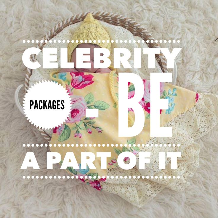 Aussie wholesalers - join in; celebrity baby packages #saltcelebrity