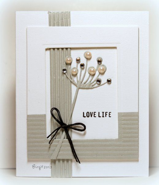 SC467 Love Life by Biggan - Cards and Paper Crafts at Splitcoaststampers