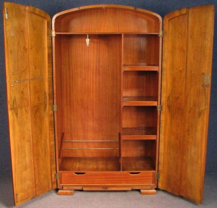 Fancy Beschreibung Diese Art Deco ausgestattet Tall boy Herren Bademantel schlafzimmer Schrank ist ein sehr gutes St ck M bel die Termine f r die Jahre