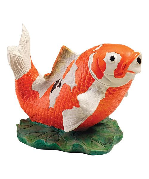 17 best images about fish on pinterest ceramic vase for Koi fish figurines