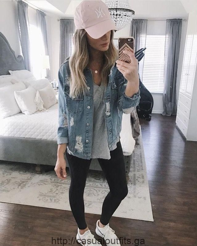 50e1cbbb120b1 Amazing 70 casual outfits with denim jeans college in fall 2018 outfital.co