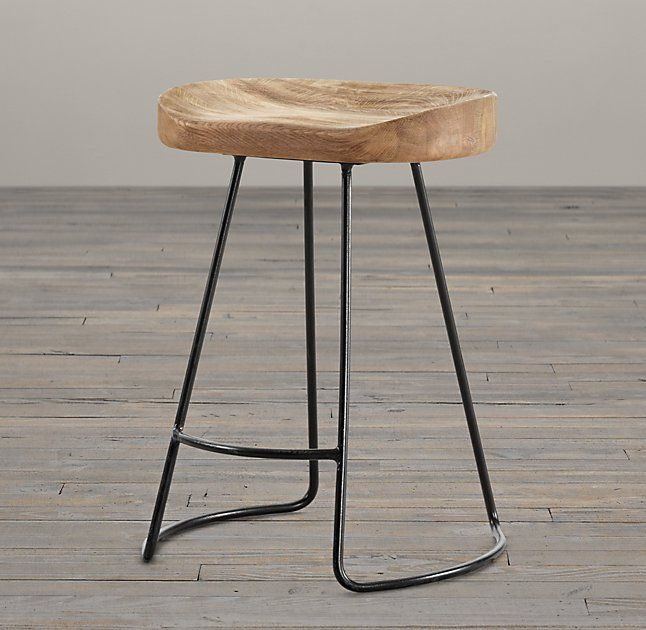 Luxury Iron Bar Stools Rustic