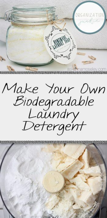 Make Your Own Biodegradable Laundry Detergent