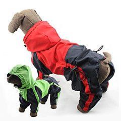 PethingTM Western Style Windproof Waterproof Raincoat for Do... – USD $ 13.99