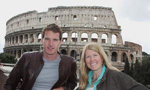 They've only gone and found the Colisuem! Dan Snow and Sarah Parcak