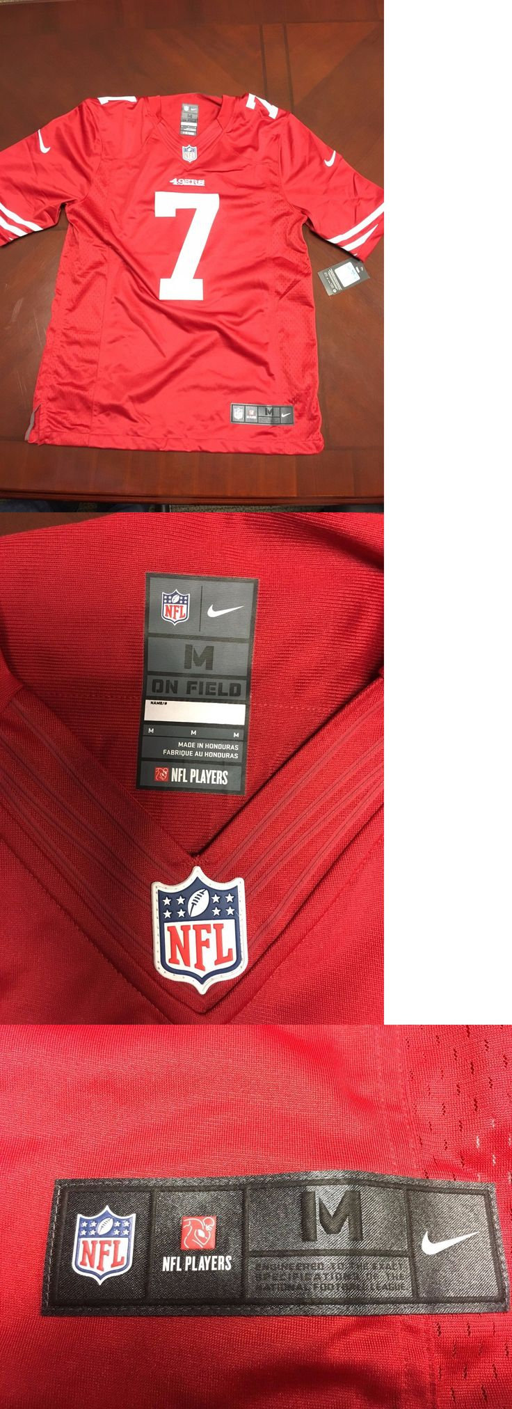 Football-NFL 206: Mens San Francisco 49Ers Colin Kaepernick Auth Nike On Field Game Jersey Size M -> BUY IT NOW ONLY: $33.99 on eBay!