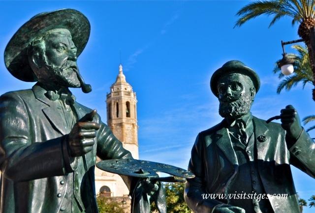 Sitges Santiago Rusiñol by Sitges - Imágenes de Sitges, via Flickr