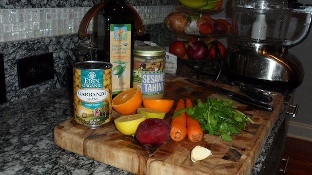 """Hummus Ingredients (Basic) 1 can of """"Eden Farms"""" organic garbanzo ..."""
