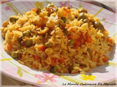 Je vous propose aujourd'hui cette version de riz au four, que j'adore, une réussite a tous les coups. Un plat complet, simple et surtout tres savoureux. Même les personnes qui ne sont pas portes sur le riz, aimeront une fois qu'ils goûteront a ce plat...