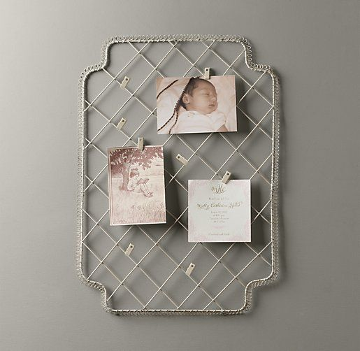 Metal Card Holder | Accessories | Restoration Hardware Baby & Child