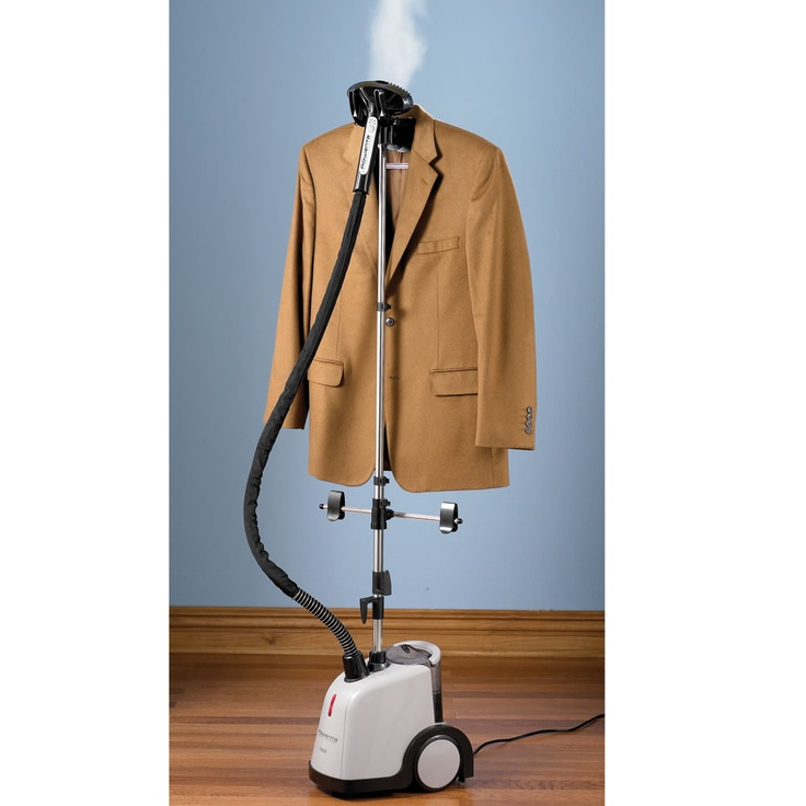 The Best Garment Steamer - Hammacher Schlemmer - This model earned The Best rating from the Hammacher Schlemmer Institute because it removed wrinkles and produced steam the fastest.