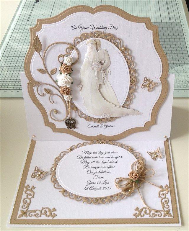 17 best ideas about Wedding Cards Handmade on Pinterest Wedding