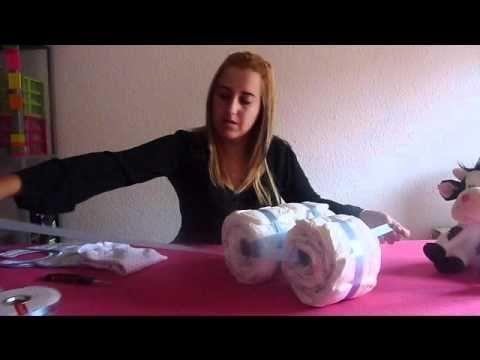 ▶ www.masquetejas.com como hacer una moto de pañales - YouTube
