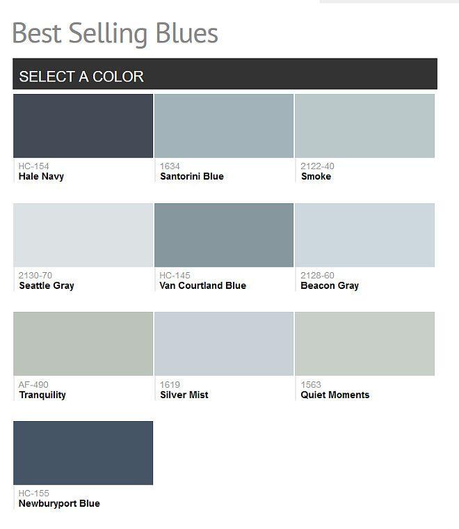 Benjamin Moore Best Bathroom Colors: 17 Best Ideas About Benjamin Moore Smoke On Pinterest