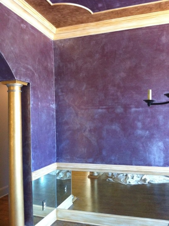 62 best images about faux finishes on pinterest wall Best paint finish for bathroom