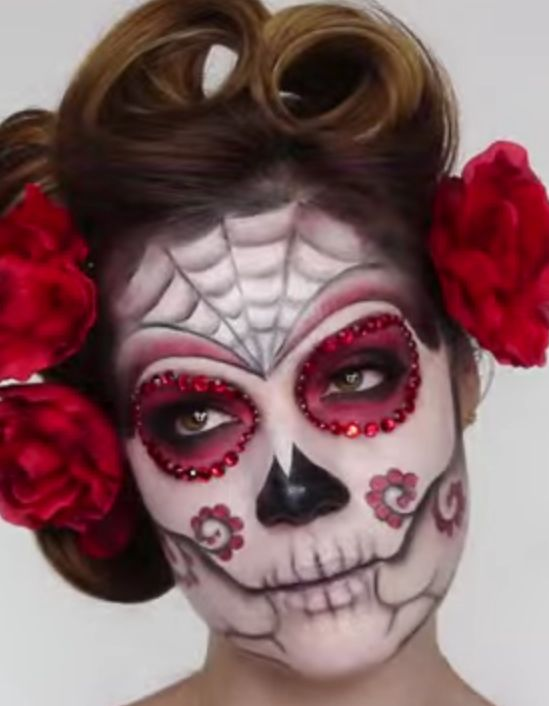 69 best mexican day of the dead makeup images on Pinterest | Sugar ...