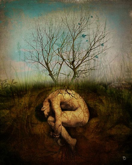 You were a seed that buried it's roots where others overlooked. Details: your soil, rain, & sun. Today, awestruck, I scale your branches  (art;christian.schloe)