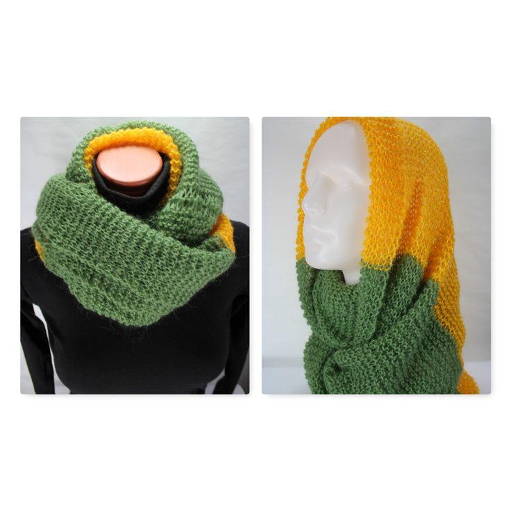 Wool scarf, infinity scarf, winter scarves for women, knit scarf, oversized scar…