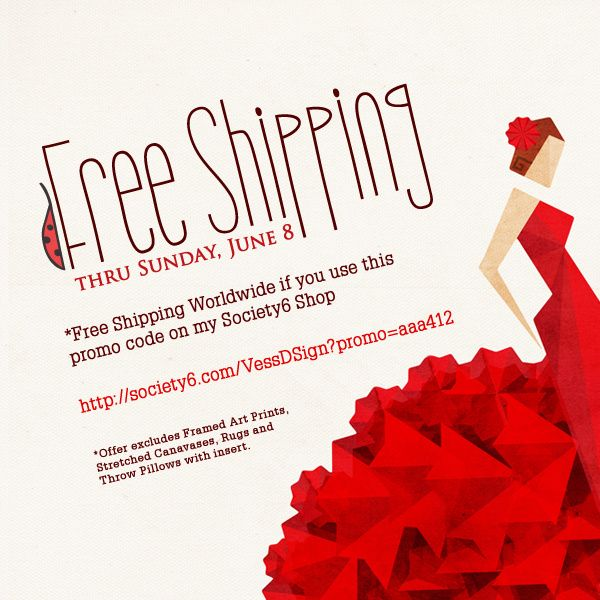 1000 images about free shipping promo codes society6 on for Society 6 promo code