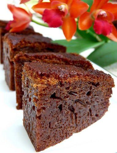 Resep Bolu Karamel Panggang Sarang Semut Lembut  | Resep Kue Kering-ku :)