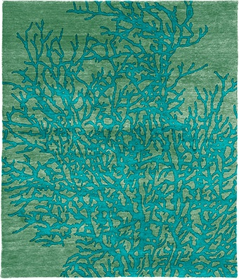 Adamina Hand Knotted Tibetan Rug from the Tibetan Rugs 1 collection at Modern Area Rugs
