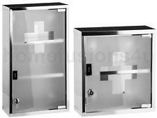 New Wall Mounted Locking Metal Cabinet