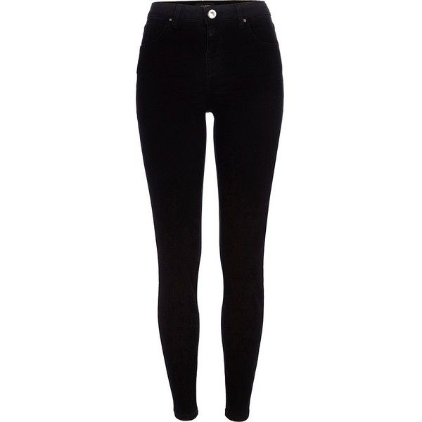 River Island Black Jenna straight jeans (360 ZAR) ❤ liked on Polyvore featuring jeans, pants, bottoms, calças, sale, tall straight leg jeans, zipper jeans, straight jeans, mid rise straight leg jeans e mid-rise jeans