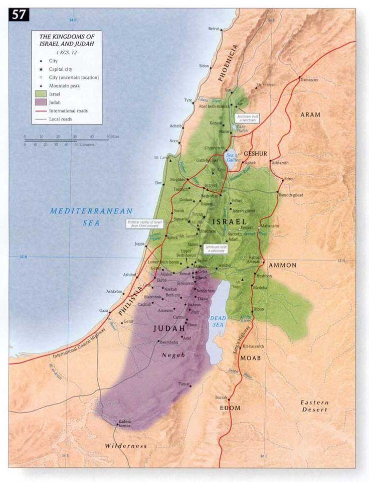 Map of Judah Today Bing Images