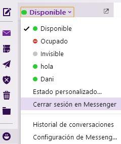 Nueva interfaz Messenger desde Yahoo Mail | Iniciar sesion correo - Yahoo! Mail ayuda